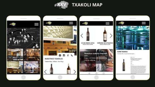 Presentacion Txakoli Map